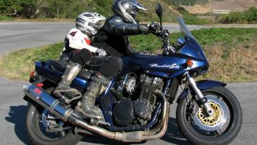 Viajar En Moto Con Un Menor